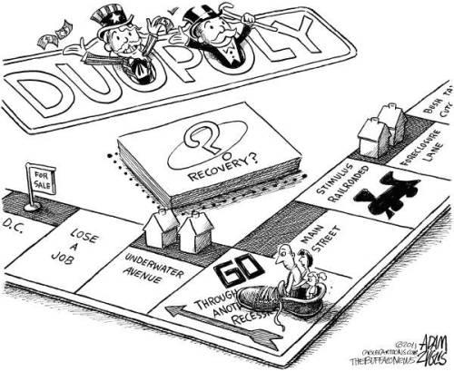 Monopoly updated for our perilous times.