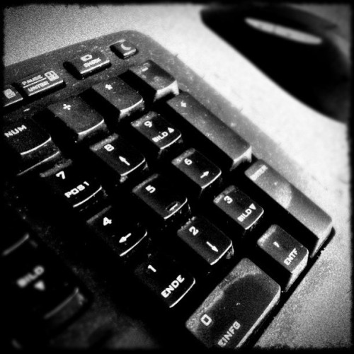 Numb3rs | Defining our live | #instaplus #Daido #BurntB | #Keyboard #Computer (Taken with Instagram at Grevenbroich)