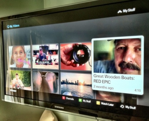 vimeobuzz:   Internet TV and how watching Vimeo is a whole different experience with this!  – By Phillip Bloom