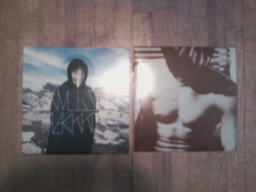 Recently acquired vinyl purchases that finally came in the mail:Black Kites/Convulsions Split LPThe Smiths - Self Titled LP