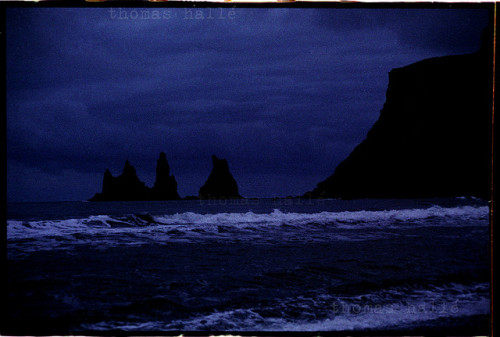 Vik at night, Iceland on Flickr.