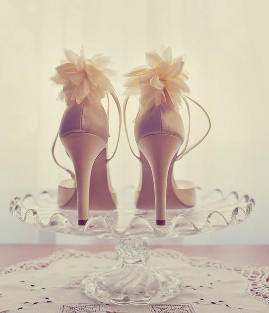 becomeyourselfbeyourself:  Calvin Klein Wedding shoes.