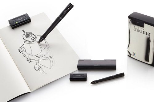 cjwho:  Graphics – A new Toy by Wacom : ​​Inkling ~ http://bit.ly/n7CHNa I WANT THAT!