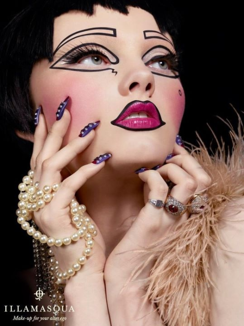 lipstickandluxury:  Makeup = Art Photo: Illamasqua