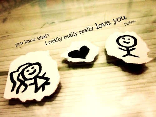 gone-and-faded:  you know what? i really really realy love you