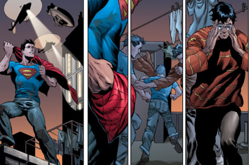 Grant Morrison Reinvents Superman, Can He Rescue DC Comics? Check out this exclusive page from the upcoming Action Comics reboot!