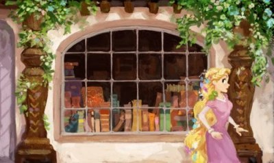fairytalemood:  Tangled concept art