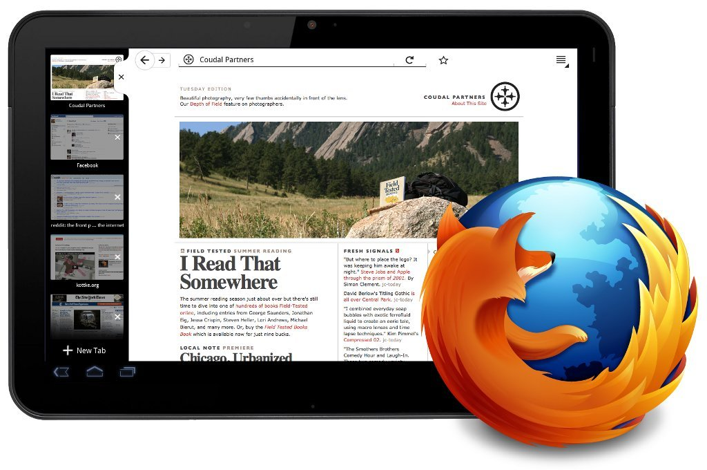 Firefox to bring us a tablet device?  Read more on Mashable.