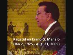 Condolence to the 2nd death anniversary of Kapatid na Eraño de Guzman Manalo.