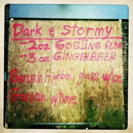 barbook:  Pre-Irene drinking advice in New York.  (photo by Erin Treib, via the New Yorker)