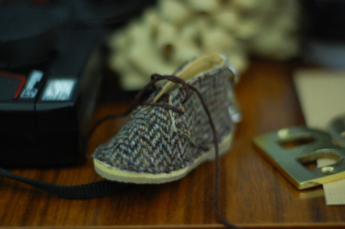 A miniature desert boot by Clarks