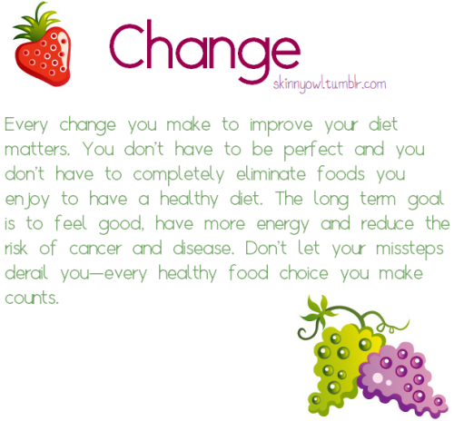 Everyone needs a little change #TeamFitness