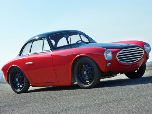 coolerthanbefore:  1953 Moretti 750 Gran Sport Berlinetta by Michelotti