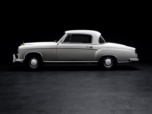coolerthanbefore:  Mercedes Benz 220S Ponton Coupe