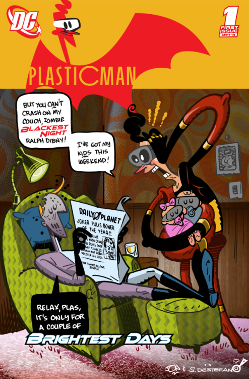 calamityjon:  Plastic Man by Jon Morris  Yes.