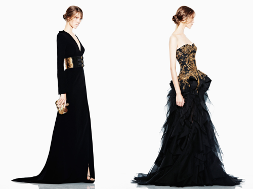 mimirose:  Alexander McQueen Resort 2012 (via.)  # you on the right, get into my wardrobe!