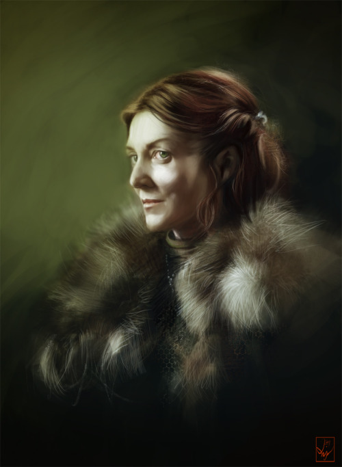 asofai:  Catelyn by AniaEm