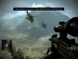 """Battlefield is the only game where being a sniper is fun."" http://mygamingconfessions.tumblr.com/"