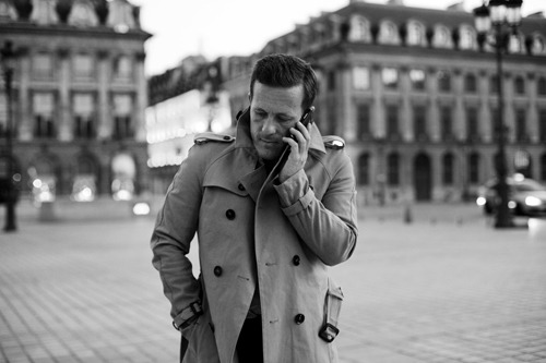 urbanemenswear:  Scott & his trench coat