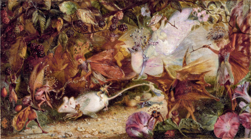 The Chase of the White Mouse by John Anster Fitzgerald