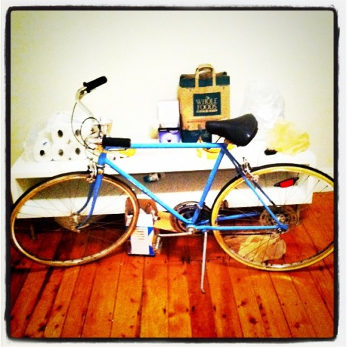 New bike! (Taken with instagram)