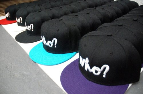We're gonna order more Snapbacks at the end of the week, Since you cleared us out so quick. What colours would you like? Or shall we stick with what we had? Let us know via our facebook page x http://www.facebook.com/whoclothing