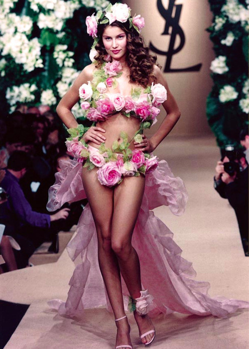 Laetitia Casta, Yves Saint Laurent S/S 1999 Haute Couture