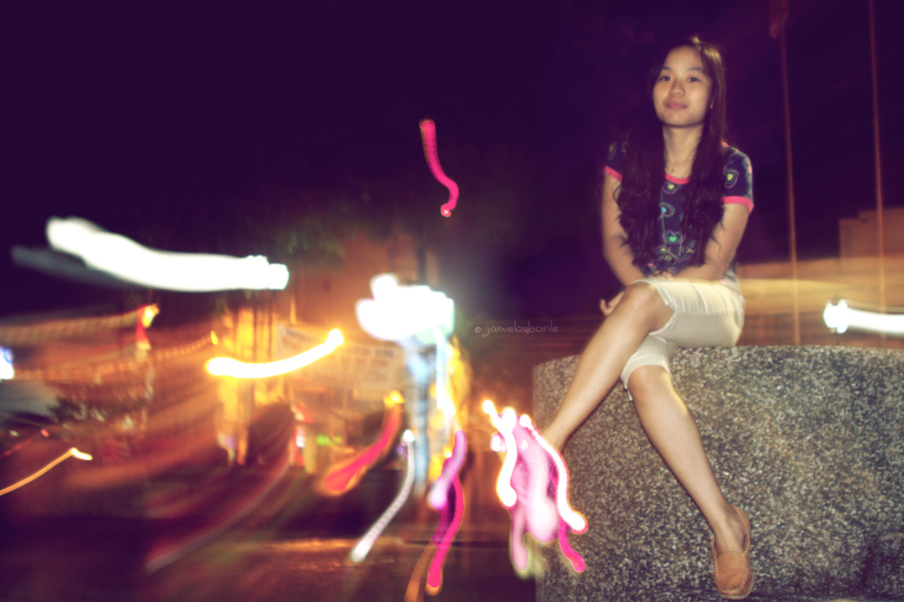 Naga City lights. lol :))