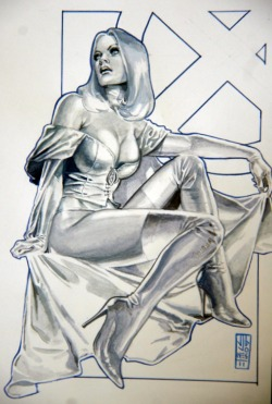 Emma Frost by J.G. Jones