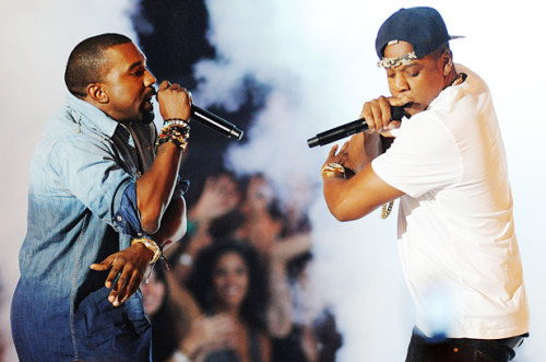 Hov and Yeezy