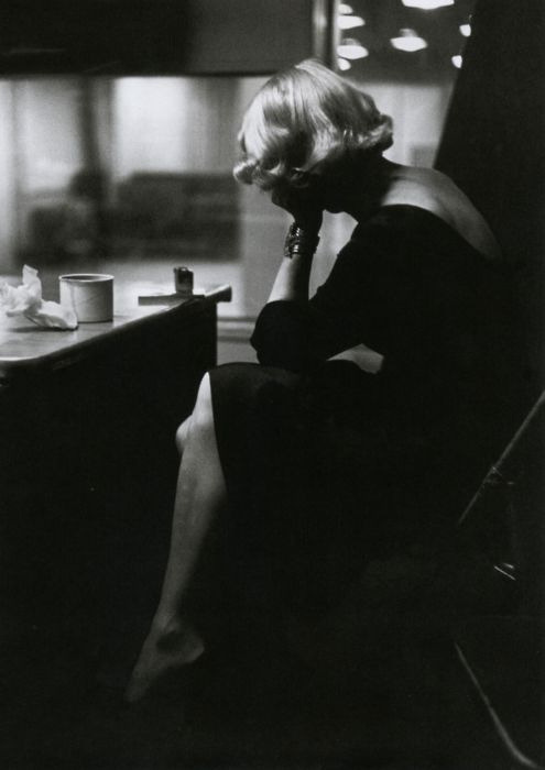Marlene Dietrich photographed by Eve Arnold in 1950