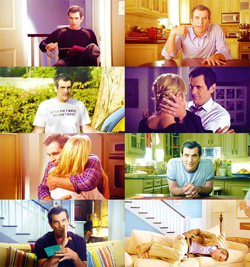 gigglemonster:  P → Phil Dunphy [asked by epigraphs]  In nature, fathers are known to eat their young. Is it because they're  delicious? No. It's because they want to give their female… bear,  giraffe, what have you… the honeymoon they never had. Just to be  clear: I don't condone eating your kids, although I sure as heck know  why giraffes do it.