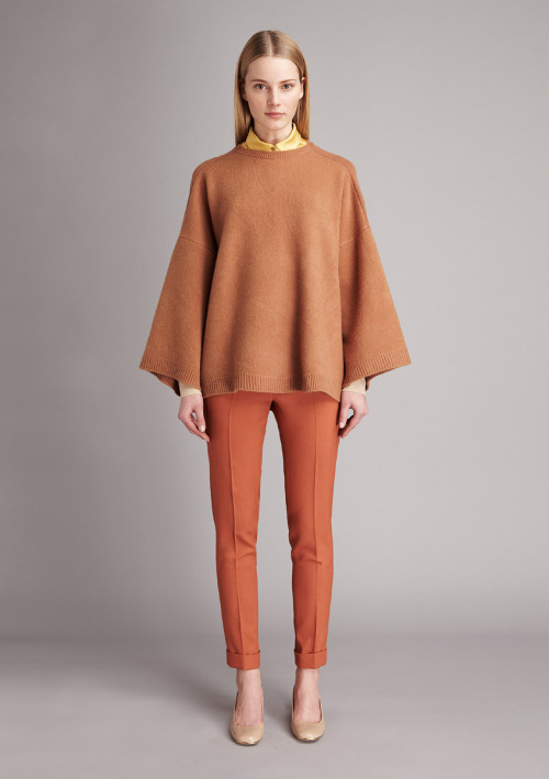 Love the cape:  Stella McCartney Pre-Fall 2011