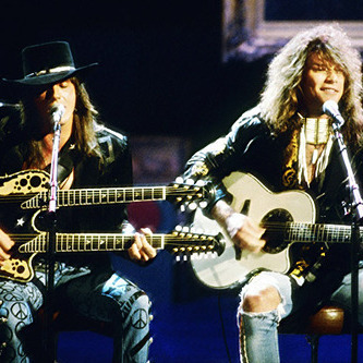 Jon Bon Jovi and Richie Sambora - Imagine