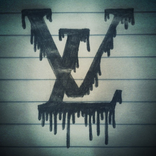 Dripping LV. Sketched up in a meeting a few weeks back.