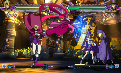BlazBlue Continuum Shift Extend is an (almost) free update for PS3 & 360 owners So this guy up there, Relius, is a new character in the new BlazBlue Continuum Shift Extend, which is coming out for PS3, 360, 3DS, and Vita. But you already own BlazBlue, Continuum Shift for 360 or PS3! You're gonna have to buy another disc! Psych. Continuum Shift Extend, like Continuum Shift II, will be a free patch for existing owners. Of course, you'll have to buy Relius and Ignis (Another character coming to Extend) a la carte, but this is a strangely logical move for a fighting game.