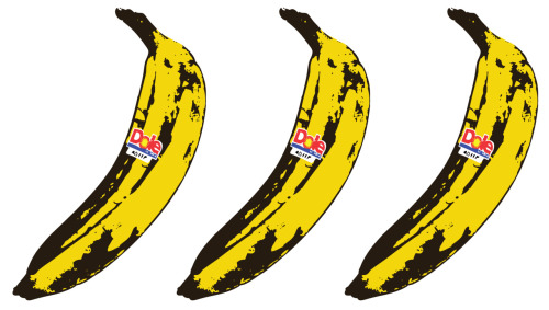 Warhol Dole Bananas By Stephen Surlin 2010 Illustration
