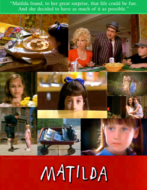 Favorite Movies of the '90s Matilda | 1996