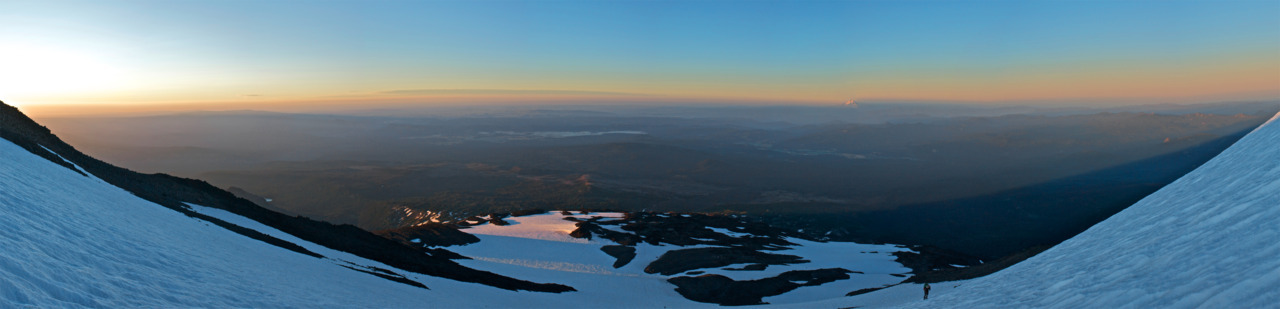 Mt. Adams Sunrise Panorama
