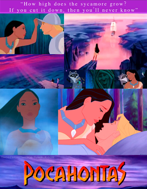 Favorite Movies of the '90s Pocahontas | 1995