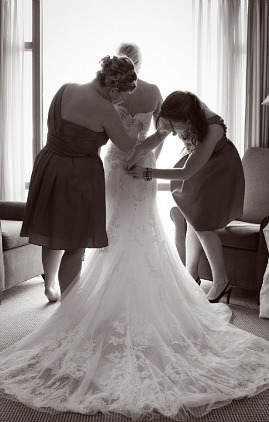 Who will stand by your side on your big day?