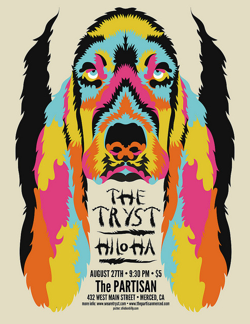 The Tryst - August 27th Poster  by Chicken Billy on Flickr.