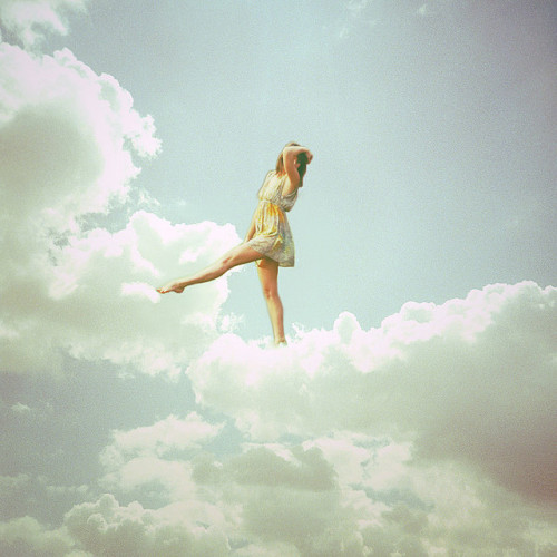 dancing on clouds. ~092~365 by Leentje Schoofs (Little L*tje) on Flickr.