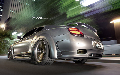 automotivated:  ADV.1 / GMP Performance Bentley GT (by ADV1WHEELS)