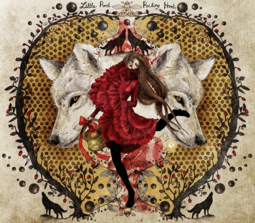 "fairytalemood:  ""Little Red Riding Hood"" by ABY"