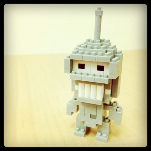 Nanoblock Bender … See http://fb.me/chrisnanoblock for more