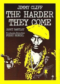 "The Harder They Come (1972) Reggae legend Jimmy Cliff stars as Ivanhoe ""Ivan"" Martin, an aspiring young singer who leaves his rural village for the city of Kingston, hoping to make a name for himself. Robbed of his money and possessions his first day in town, he finds work with a self-righteous, bullying preacher, and an unscrupulous music mogul who exploits young hopefuls. In desperation, the simple country boy turns outlaw, at war with both the police and his rivals in the ganja trade. Ivan's dream of stardom soon becomes reality as he rises to the top of the pop charts and the most-wanted lists. This gritty, groundbreaking film brought reggae music to the international stage, made Jimmy Cliff a star, and demonstrated that music and art can change the world. Watch it here."