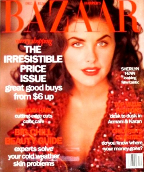 "Sherilyn Fenn for ""VOGUE""."