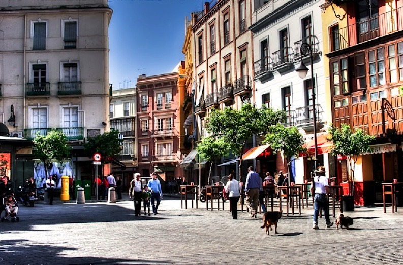 | ♕ |  Plaza Sevilla - Andalusia, Spain   | by © Sashol Photography