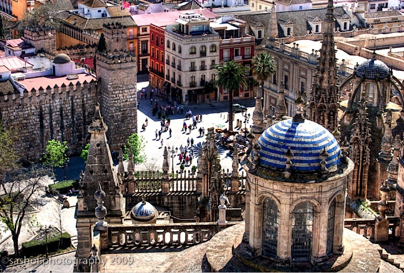 | ♕ |  View from Sevilla Cathedral  | by © Sashol Photography
